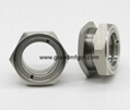 空壓機鋁制油液視鏡油鏡M20x1.5 15