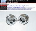 G3/4 鋁油窗油標
