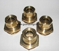 Oil Circulation Sights hemispherical brass oil level sight glass indicators