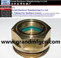 M20X1.5 custom Roots Blower dome oil sight glass oil level gauge indicators