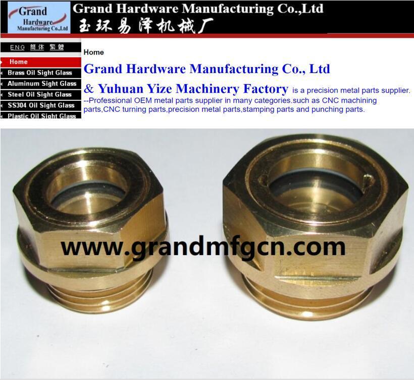 brass oil sight gauge