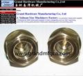 custom brass oil sight glass