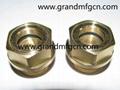 quality brass oil level sight gauge
