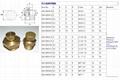 Brass Vent plugs