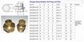 Hydraulic Brass Breather Vents plugs NPT Thread