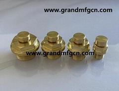 英制管螺纹变速机齿轮箱铜排气阀铜呼吸阀铜通气帽铜透气塞