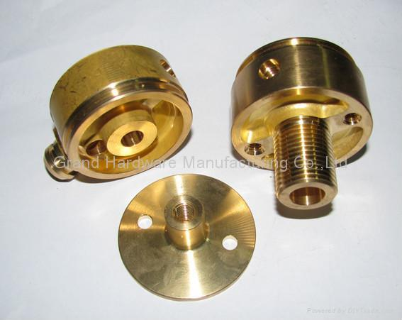 Precision Machined Brass Parts 5