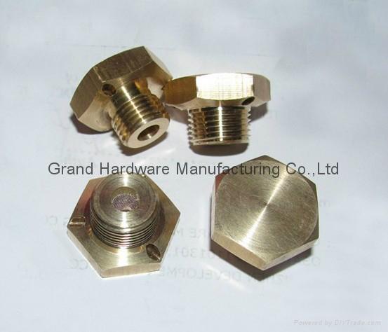 Brass Vent plugs  1