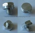Gearboxes aluminum drain plugs