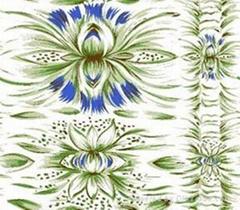 人造棉印花布和染色布