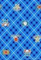 法兰绒哔叽印花染色布