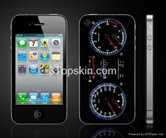 Automobile Instrument-Unique iPhone 4 Skin