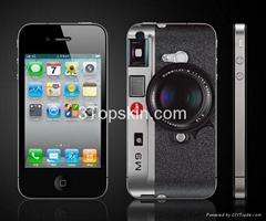 LEIKA M9-Unique Sticker for iPhone 4
