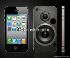 SoundBox-Unique Skin for iPhone 4