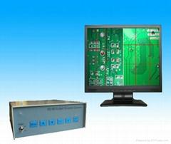 贴合机定位用WD480 VGA 接口二画面显示多十字线发生器