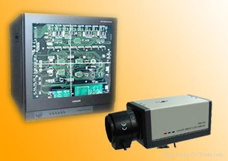 PS打孔机用十字线摄象机 1