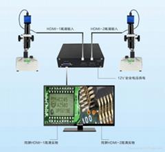 WX560 高清图像二分屏显示定位系统