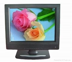 8-12 inch LCD monitor FOR industrial video