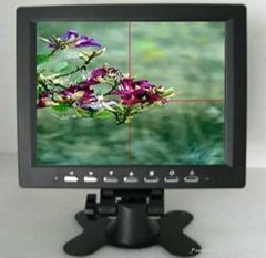8寸帶十字線工業液晶顯示器