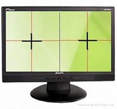 PS版打孔机双彩色十字线定位成像系统