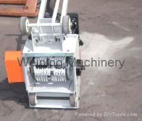 Concrete surface flooring planer scarifier grinding grooving machine WPG200 2