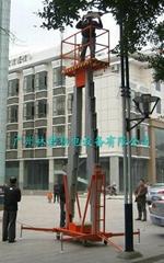 gtwy8米双桅柱式电动高空作业平台