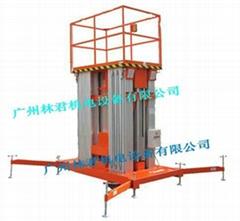 18米六柱式鋁合金電動昇降平台