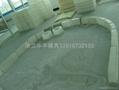 S型防撞侧石塑模下水道盖板模具