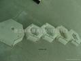 混凝土预制块盖板塑料模具