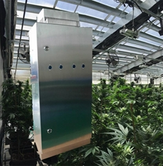 Hydroponics Air Purifier can replace Carbon Filter in Marijuana Greenhouse