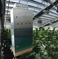 Odor control in for greenhouse grow room