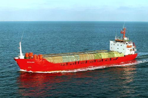 Gen. cargo ship / timber carrier DW 2950