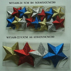 CHRISTMAS ORNAMENT(STAR)