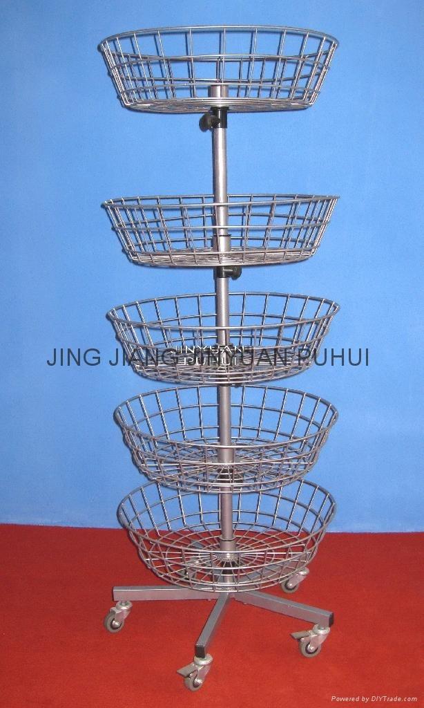 basket  display rack
