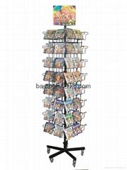 CD /DVD display rack