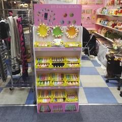 pvc display stand