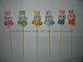 竹签复活节小兔