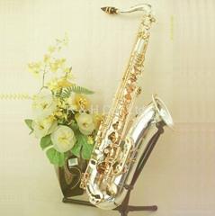 Sterling Silver Tenor Saxophone