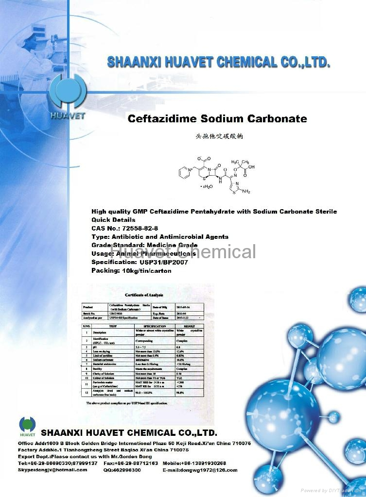 Ceftazidime Sodium Carbonate (CAS No.: 72558-82-8) 1