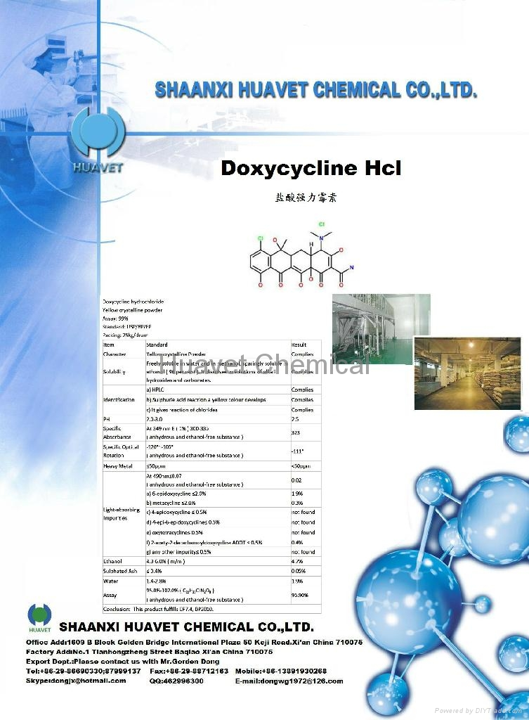 Doxycycline Hcl (CAS No.:24390-14-5)