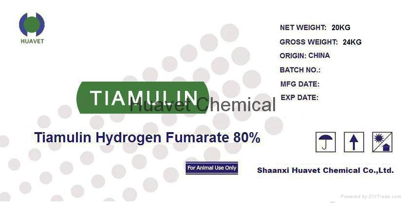 Tiamulin Fumarate 80% Granular(Cas No.,89708-74-7 ) 1