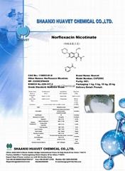Norfloxacin Nicotinate (Cas No.:118803-81-9 )