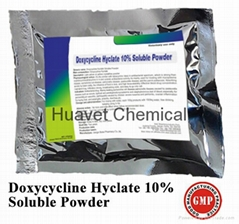 Doxycycine Hyclate 10% Soluble Powder/Granular