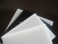 PE sheet, HDPE sheet with white, black color