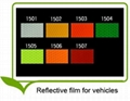 Reflective film for vehicles (PVC Type)