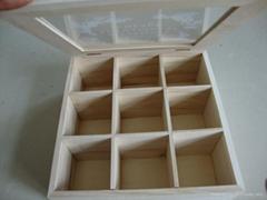 山東廠家木製茶葉盒定製禮品盒
