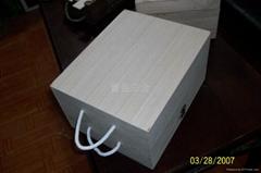 經典復古松木紅酒盒 廠家直銷