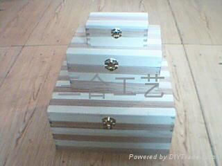 木盒生產廠家木製禮品定製包裝盒 3