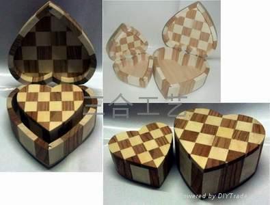 木盒生產廠家木製禮品定製包裝盒 2