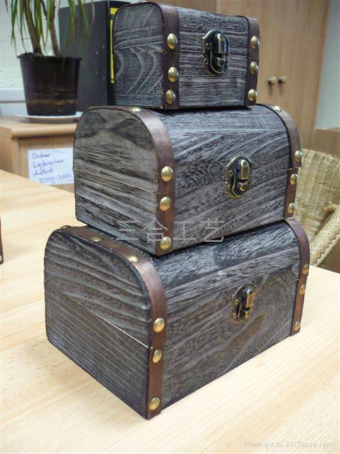 木盒生產廠家木製禮品定製包裝盒 1